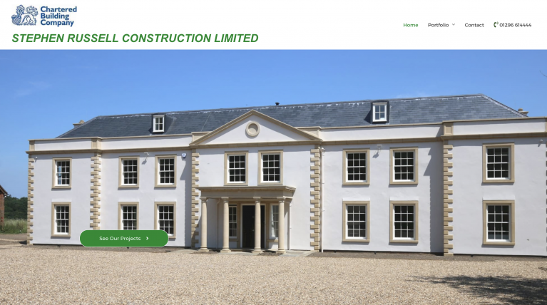 Stephen Russel Construction Limited Website